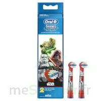 Oral-b Stages Power Star Wars 2 Brossettes à BRETEUIL